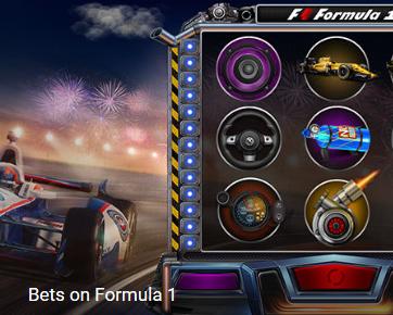 1xbet bets on formula 1